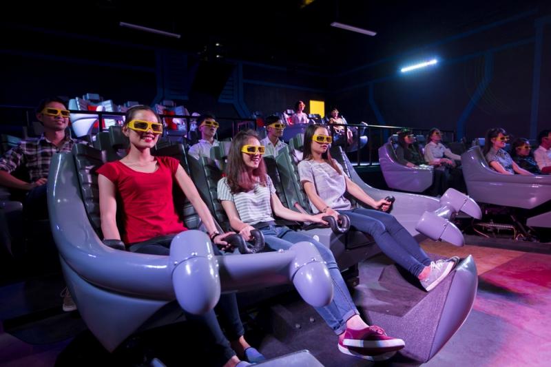 Rạp chiếu phim trong công viên Fantasy