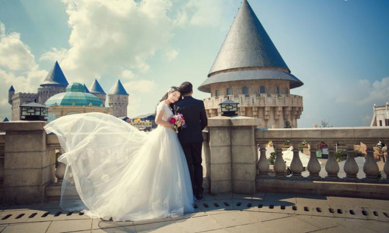 Bà Nà Hill - địa điểm chụp ảnh cưới tuyệt đẹp
