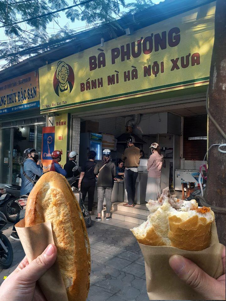 Quán bánh mì Bà Phương