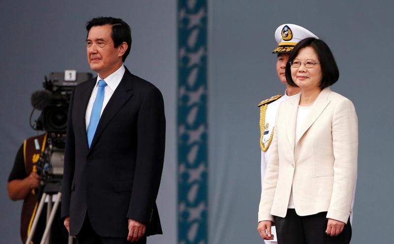 Bà Thái Văn Anh trong ngày nhậm chức tổng thống Đài Loan (Nguồn: Sưu tầm)