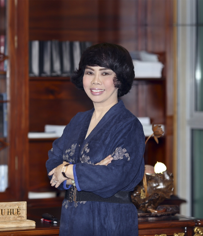 Bà Thái Hương – tổng giám đốc ngân hàng Bắc Á Bank, chủ tịch tập đoàn TH