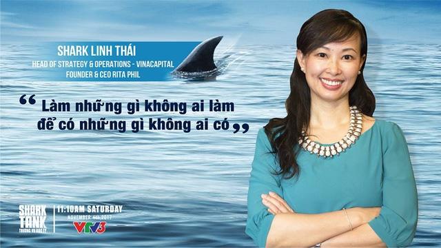 Bà Thái Vân Linh cùng câu slogan của bản thân