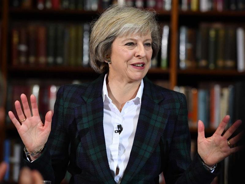Bà Theresa Mary May là một nữ chính trị gia người Anh (Nguồn: Sưu tầm)
