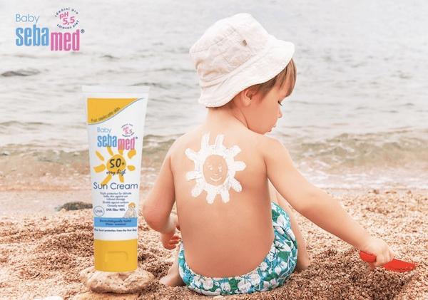 Baby Sebamed Sun Cream SPF 50+ là sản phẩm nổi bật đến từ Đức