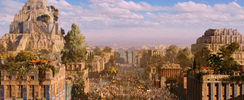 Di sản Vườn treo Babylon cổ đại