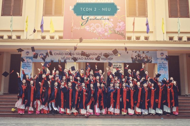 Sảnh nhà A - Hội trường văn hóa Đại học Kinh tế Quốc dân