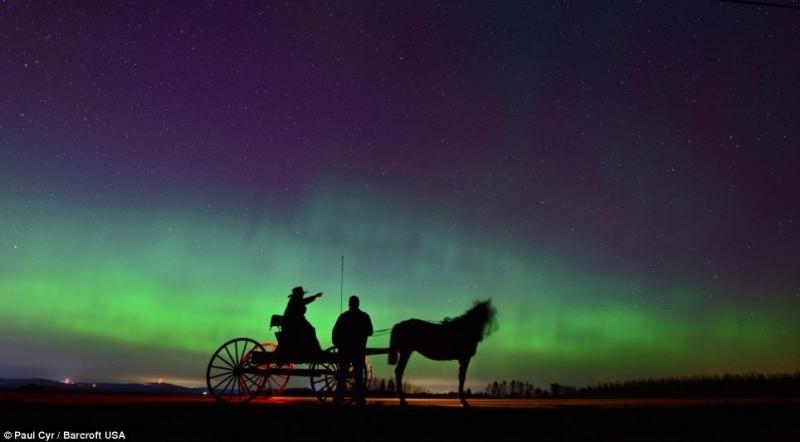 Bắc cực quang, Ireland