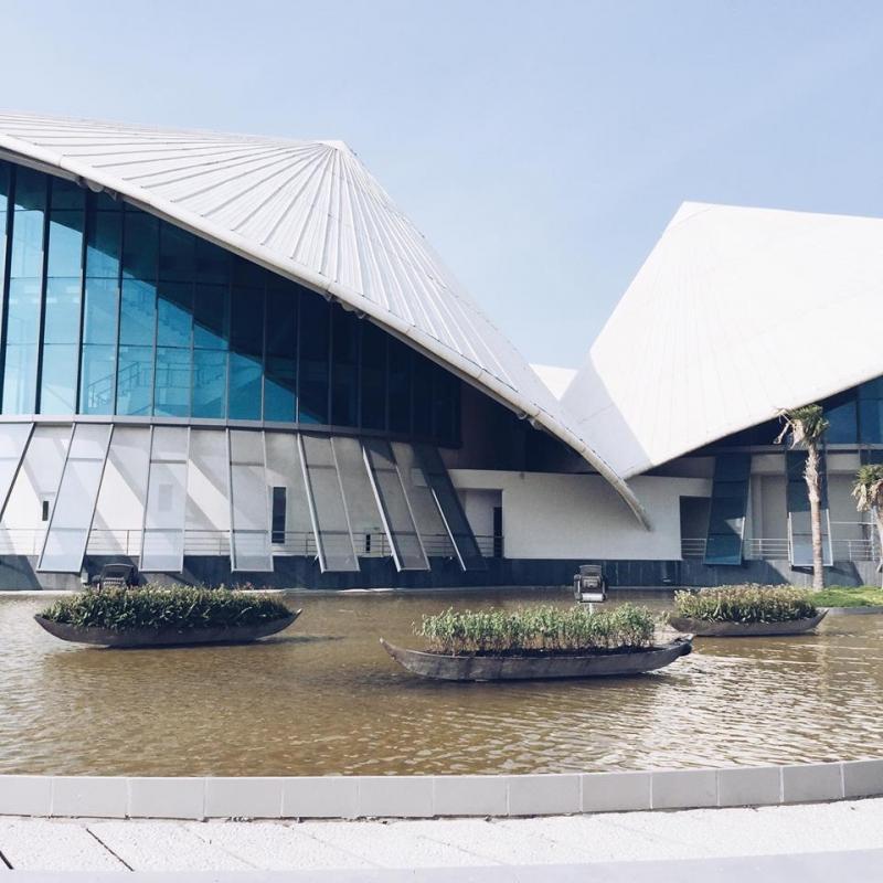 Nhà hát Cao Văn Lầu nổi tiếng