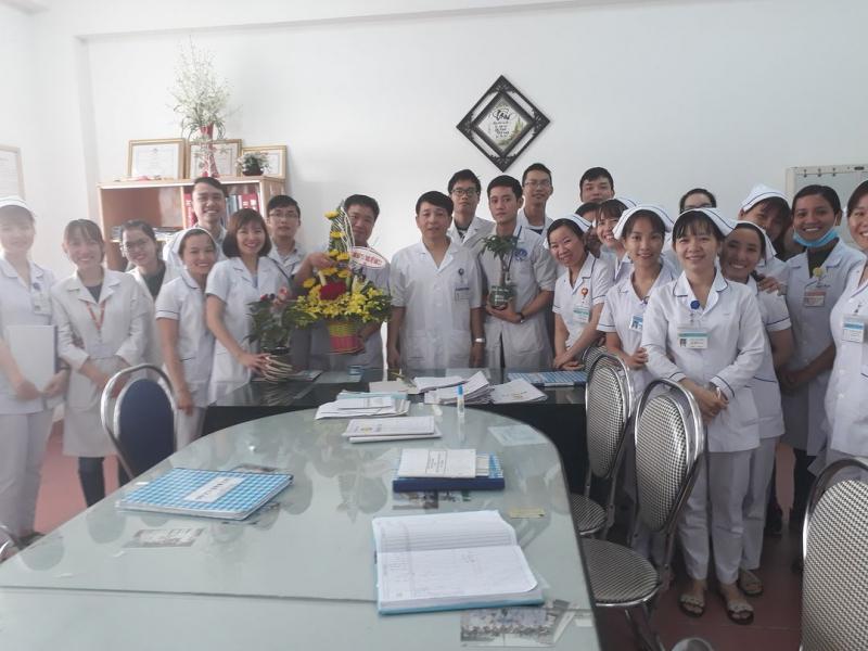 Đội ngũ nhân viên Khoa Nội Tiêu hóa Bệnh viện C Đà Nẵng