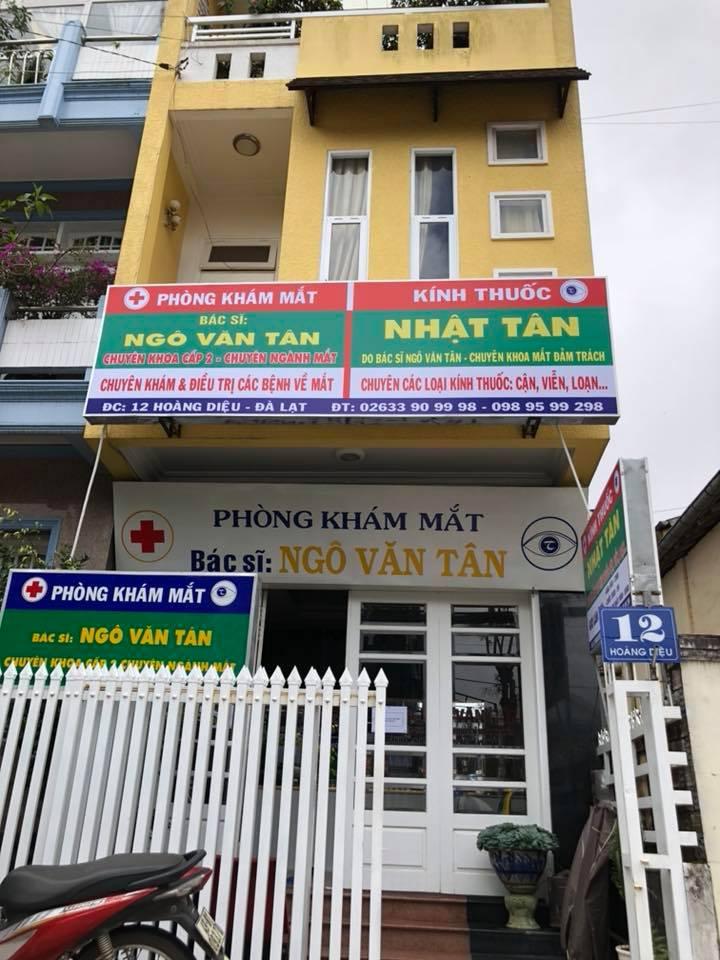Bác sĩ Ngô Văn Tân - chuyên khoa Mắt Đà lạt