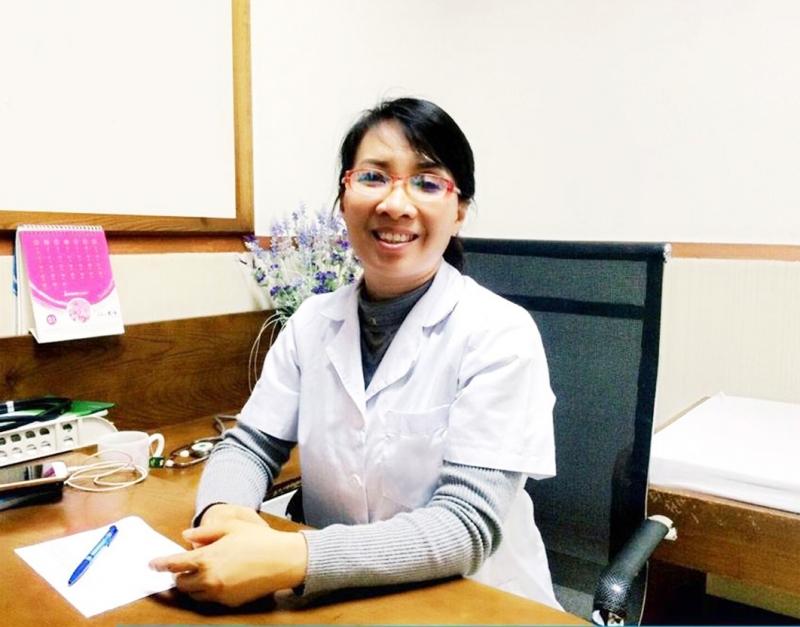 Bác sĩ Lan được nhiều bệnh nhân yêu quý và tin tưởng