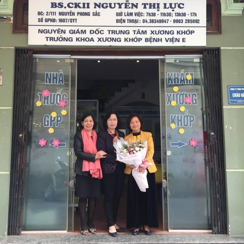 Bác sĩ Nguyễn Thị Lực - Phòng khám cơ xương khớp Nguyễn Thị Lực