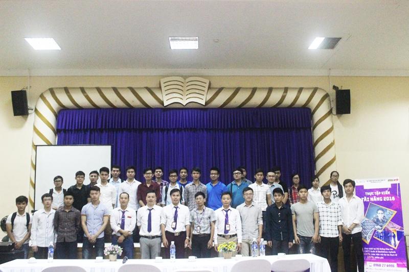 Lễ tiếp nhận sinh viên thực tập tại Bách Khoa Aptech