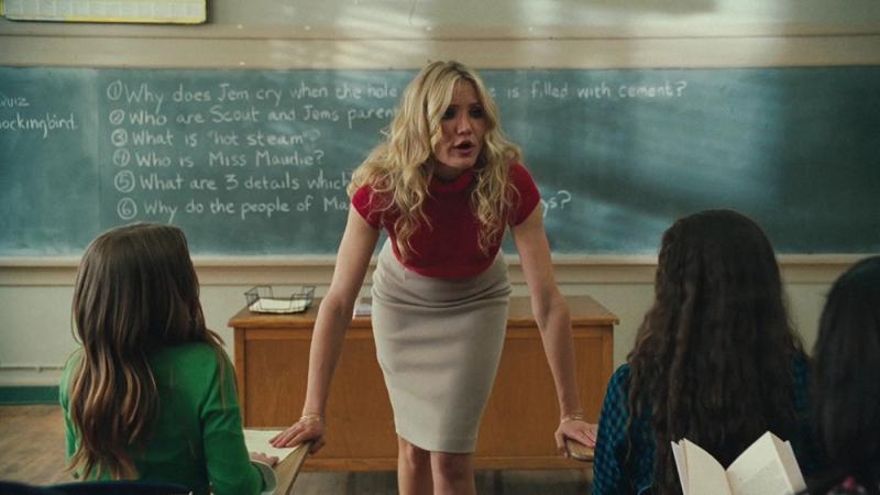 Cô giáo dạy môn Thói Xấu Cameron Diaz