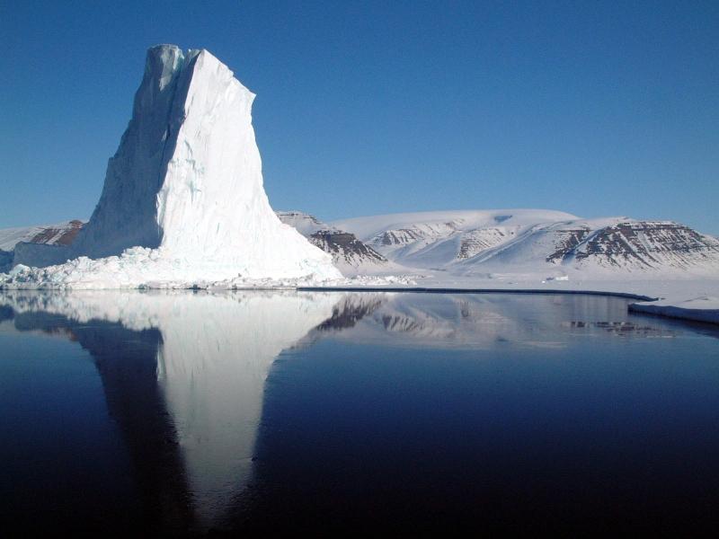 Đảo Baffin rộng lớn.