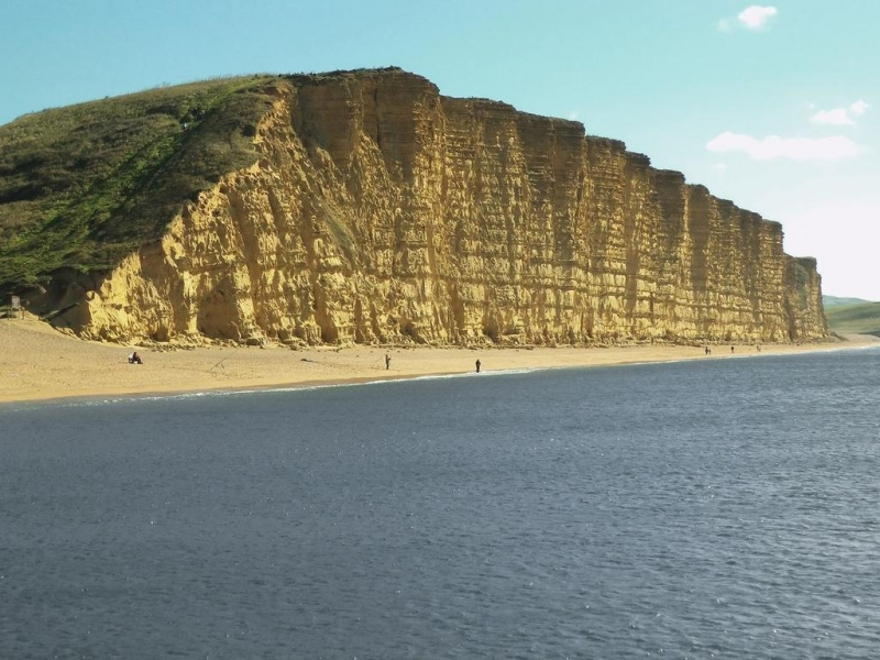 Bãi biển East Cliff, Dorset, Anh