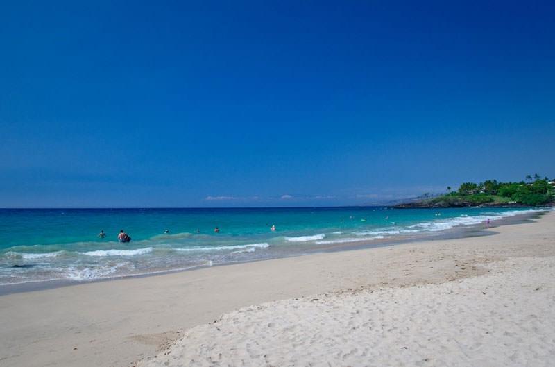 Bãi biển Hapuna Beach, Đảo lớn