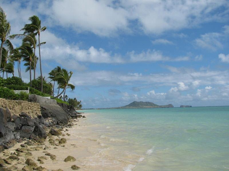 Bãi biển Lanikai, Oahu