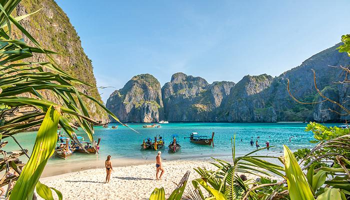 Bãi biển Maya, Koh Phi Phi Leh
