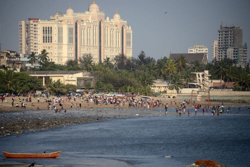 Bãi biển Chowpatty, Ấn Độ