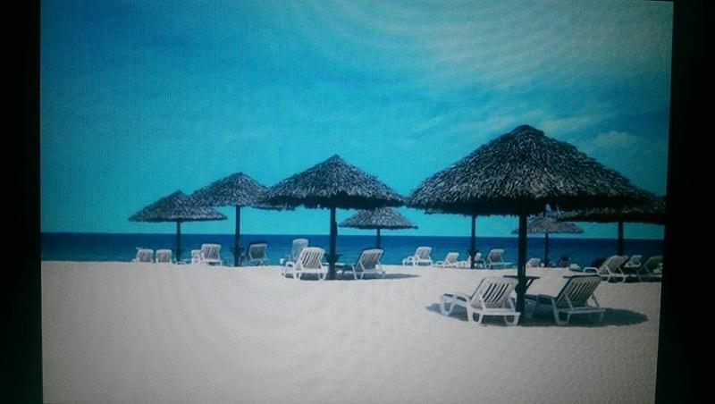 bãi biễn cát trắng trải dài