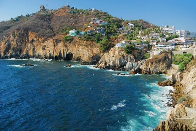 Bãi biển ở Acapulco, Mexico