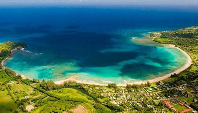 Bãi biển Vịnh Hanalei