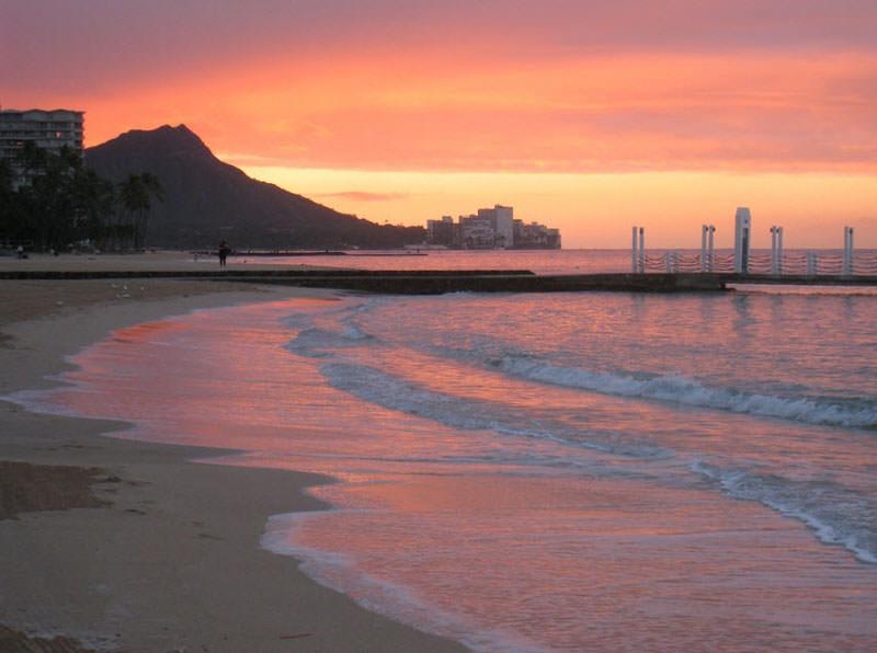 Bãi biển Waikiki, Honolulu
