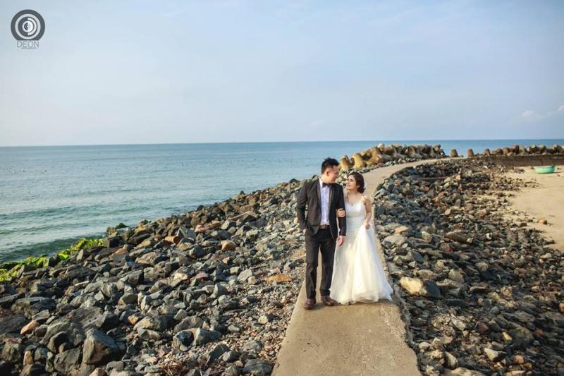 Ảnh cưới bãi đá ông địa