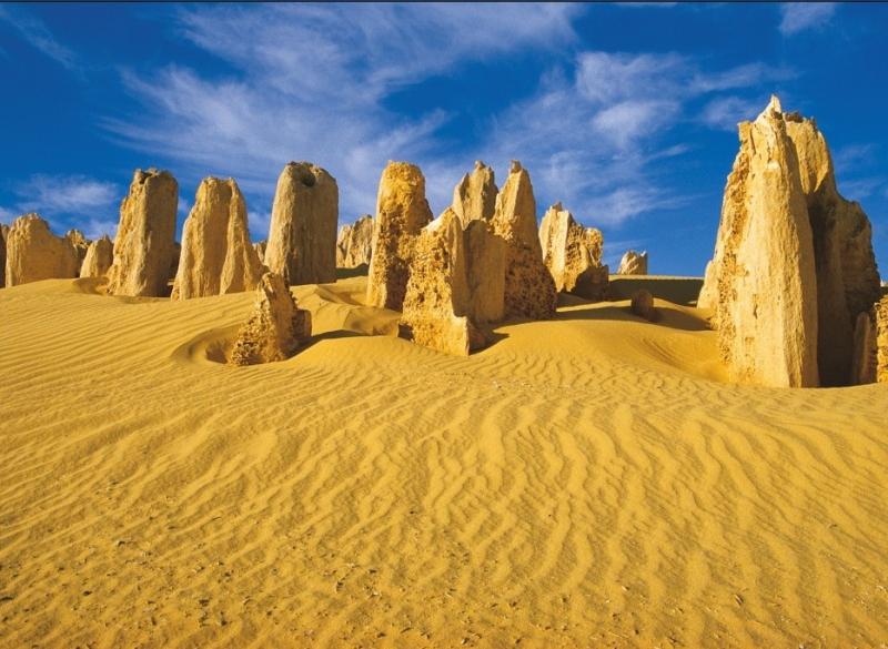 Bãi đá trên sa mạc Pinnacles