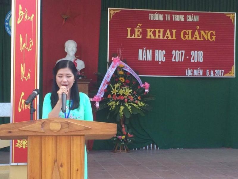 Bài diễn văn khai giảng năm học mới trường tiểu học số 4