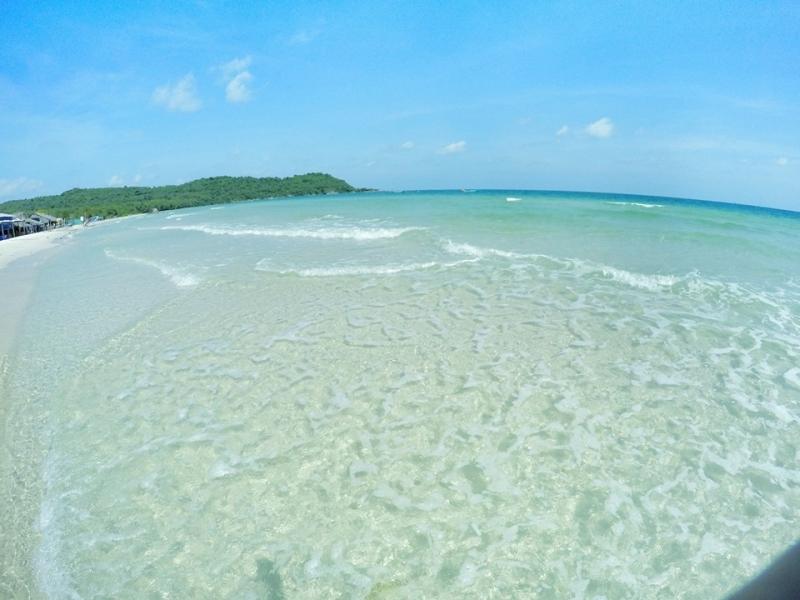 Thoạt nhìn, chắc hẳn nhiều người sẽ nghĩ đây là bãi biển Maldives trứ danh