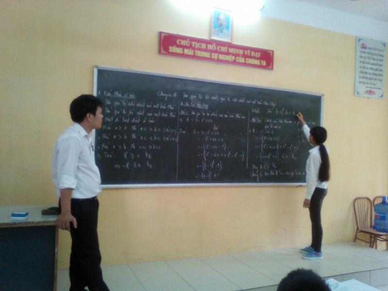 Cho học sinh lên bảng chữa bài kiểm tra kia là cách đánh giá thực lực chuẩn xác nhất