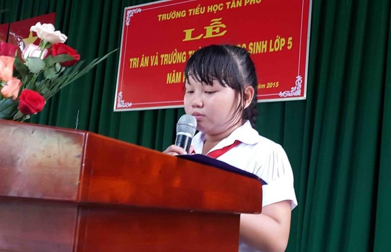 Bài phát biểu của học sinh lớp 5 (số 2)