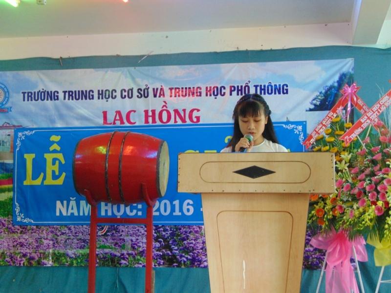 Bài phát biểu khai giảng năm học mới của học sinh THPT (số 2)