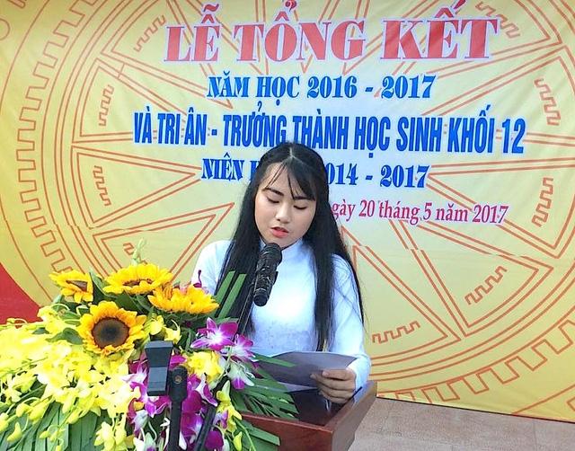 Bài phát biểu khai giảng năm học mới của học sinh THPT (số 1)