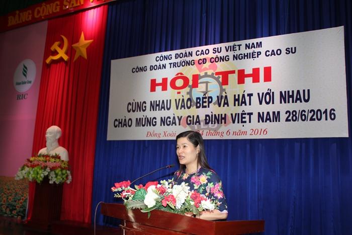 Bài phát biểu khai mạc Ngày Hội Gia Đình Việt Nam