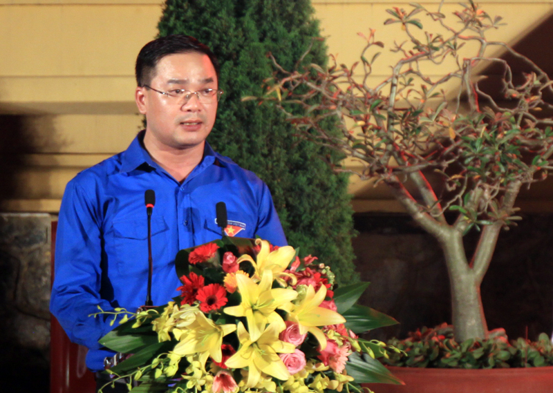 Bài phát biểu tri ân tại Lễ viếng Đài tưởng niệm các anh hùng Liệt sĩ (07).