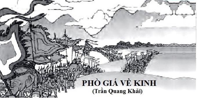 """Top 6 Bài soạn """"Phò giá về kinh"""" của Trần Quang Khải lớp 7 hay nhất"""
