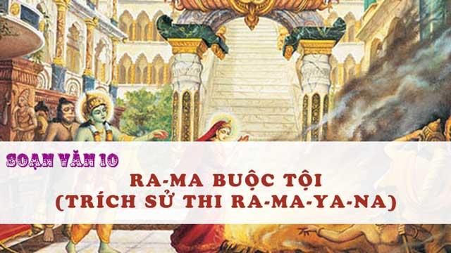 Top 6 Bài soạn Ra-ma buộc tội (Ngữ Văn 10) hay nhất