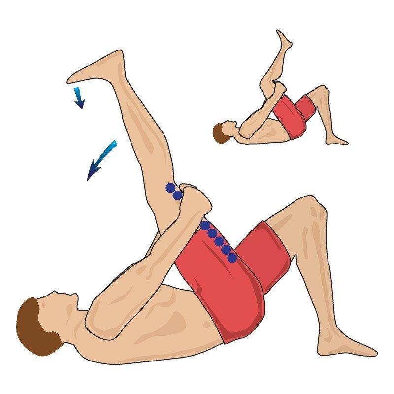 Động tác căng cơ gân kheo