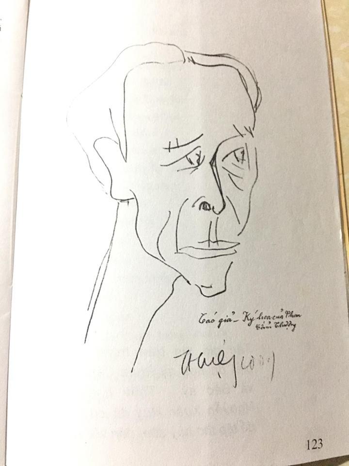 Ảnh: ký họa Tác giả của họa sĩ Phan Cẩm Thượng.