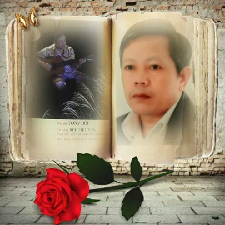 Ảnh chân dung nhà thơ Bùi Thế Uyên