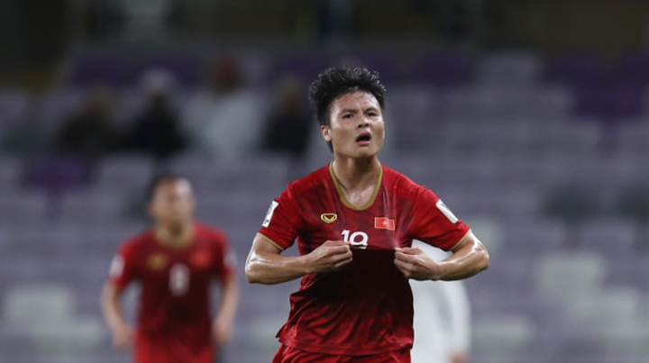 Cầu thủ Quang Hải