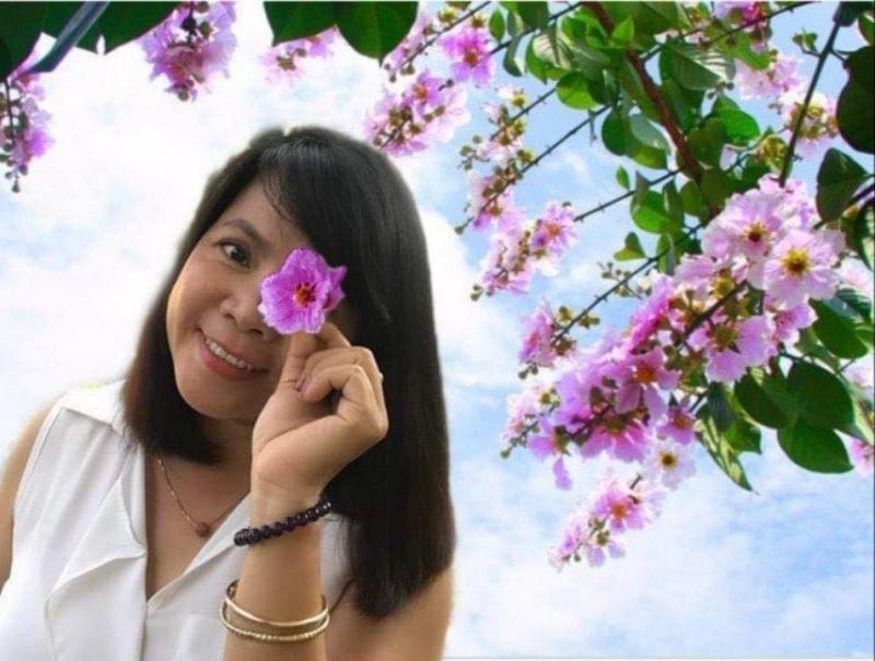 Ảnh nhà thơ Trần Thanh Nhàn