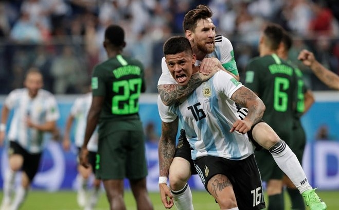 Hình ảnh World cup 2018 - nguồn internet