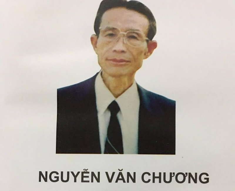 Ảnh chân dung nhà thơ Nguyễn Văn Chương