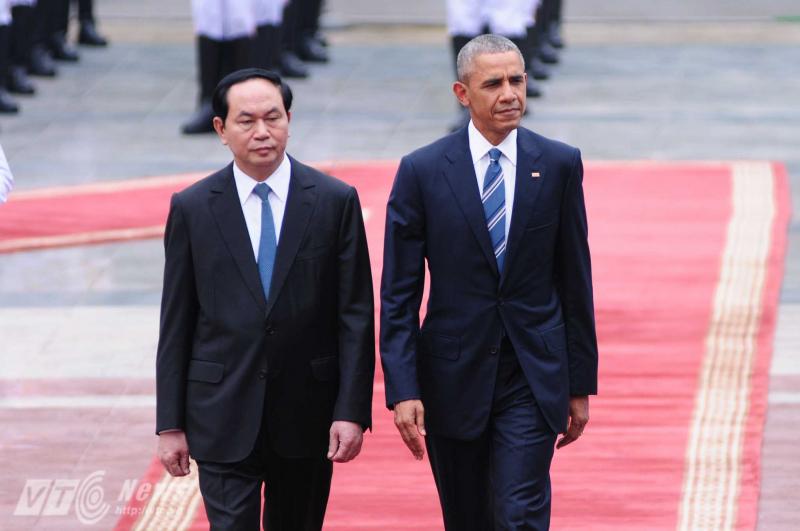 Hình ảnh Chủ Tịch Nước Trần Đại Quang trong những chuyến công tác