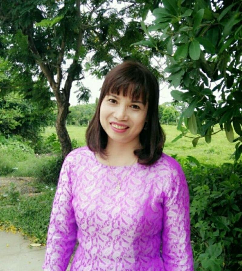 Ảnh nhà thơ Nguyễn Thị Khánh Hà