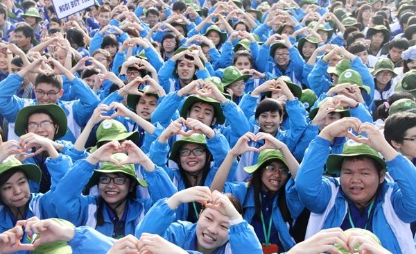 Tình yêu tuổi trẻ dành cho đoàn thanh niên Việt Nam